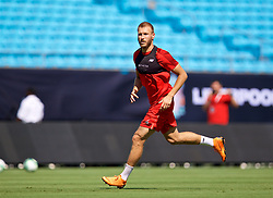 CHARLOTTE, USA - Saturday, July 21, 2018: Liverpool's Ragnar Klavan during a training session at the Bank of America Stadium ahead of a preseason International Champions Cup match between Borussia Dortmund and Liverpool FC. (Pic by David Rawcliffe/Propaganda)