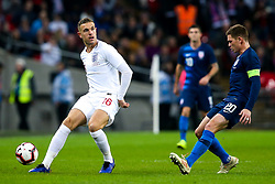 Jordan Henderson of England - Mandatory by-line: Robbie Stephenson/JMP - 15/11/2018 - FOOTBALL - Wembley Stadium - London, England - England v United States of America - International Friendly