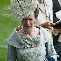 ASCOT, ENGLAND - JUNE 18:  HRH Princess Anne on Ladies Day at Royal Ascot 2009 at Ascot Racecourse on June 18, 2009 in Ascot, England.  (Photo by Marco Secchi/Getty Images)