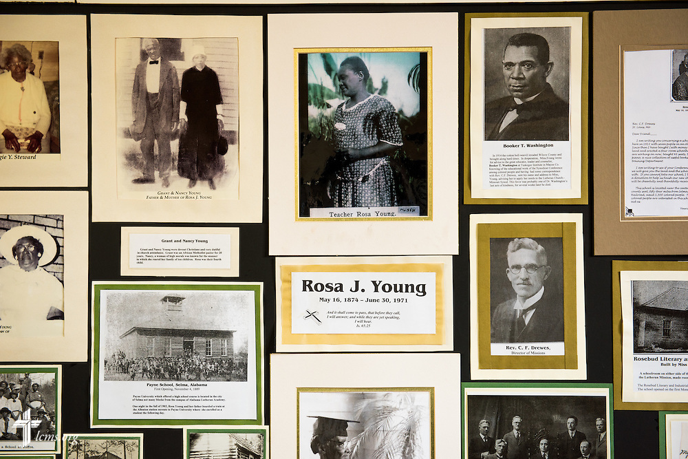 A photograph from the Dr. Rosa J. Young Historical Museum on the campus of Concordia College Alabama on Wednesday, August 20, 2014, in Selma, Ala.  LCMS Communications/Erik M. Lunsford
