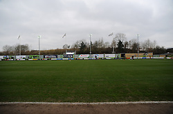 The New Lawn - Photo mandatory by-line: Nizaam Jones - Mobile: 07966 386802 - 14/03/2015 - SPORT - Football - Nailsworth - The New Lawn - Forest Green Rovers v Braintree  - Vanarama Football Conference.