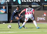 FotballFørstedivisjonTromsø IL vs Kristiansund29.05.2014Simen Wangberg, TromsøDaouda Karamoko Bamba, KristiansundFoto: Tom Benjaminsen / Digitalsport