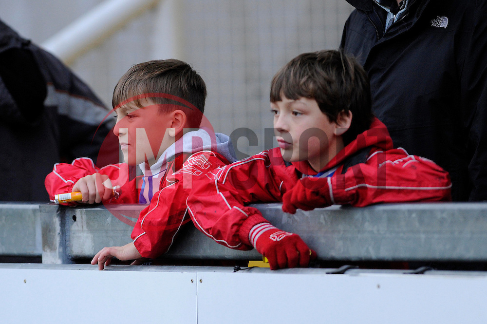 Kid a Quid promotion - Photo mandatory by-line: Dougie Allward/JMP - Tel: Mobile: 07966 386802 07/12/2013 - SPORT - Football - Bristol - Memorial Stadium - Bristol Rovers v Crawley Town - FA Cup - Second Round