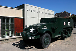 FRANCE ARROMANCHES LES BAINS 29AUG05 - Musee de Debarquement, a museum devoted to the the D-Day landings on Omaha Beach on the coast of Normandie, France...jre/Photo by Jiri Rezac..© Jiri Rezac 2005..Contact: +44 (0) 7050 110 417.Mobile:  +44 (0) 7801 337 683.Office:  +44 (0) 20 8968 9635..Email:   jiri@jirirezac.com.Web:     www.jirirezac.com..© All images Jiri Rezac 2005 - All rights reserved.