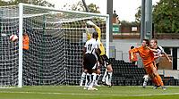 Photo: Daniel Hambury.<br />Fulham v Boavista. Pre Season Friendly. 12/08/2006.<br />Boavista's Roland Linz (right) sees this effort go wide.