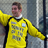 St Johnstone training....24.10.03<br />