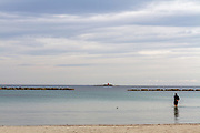 October 5, seascape as seen from Maria Pia beach