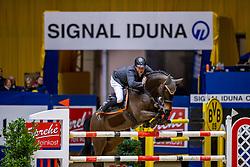 WERNKE Jan (GER), Nashville HR<br /> SIGNAL IDUNA Gruppe und Böckmann <br /> Das Championat der SIGNAL IDUNA<br /> Internationale Springprüfung mit Stechen - 1,50m<br /> Dortmund - Signal Iduna Cup 2020<br /> 14.03.20<br /> © www.sportfotos-lafrentz.de/Stefan Lafrentz