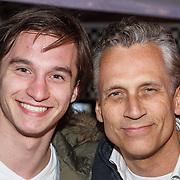 NLD/Amsterdam/20150401 - Premiere Fast & Furious 7, Robert Schoemacher en zoon Moos