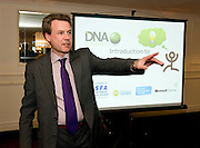 "Syl Cotter, DNA IT Solutions at the CIMA ""Cloud computing and your business ""    seminar in Hotel Meyrick Galway. Photo:Andrew Downes"