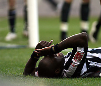 Photo: Mark Stephenson/Sportsbeat Images.<br /> West Bromwich Albion v Wolverhampton Wanderers. Coca Cola Championship. 25/11/2007.West Brom's Ishmael Miller on the side line after a bad challange