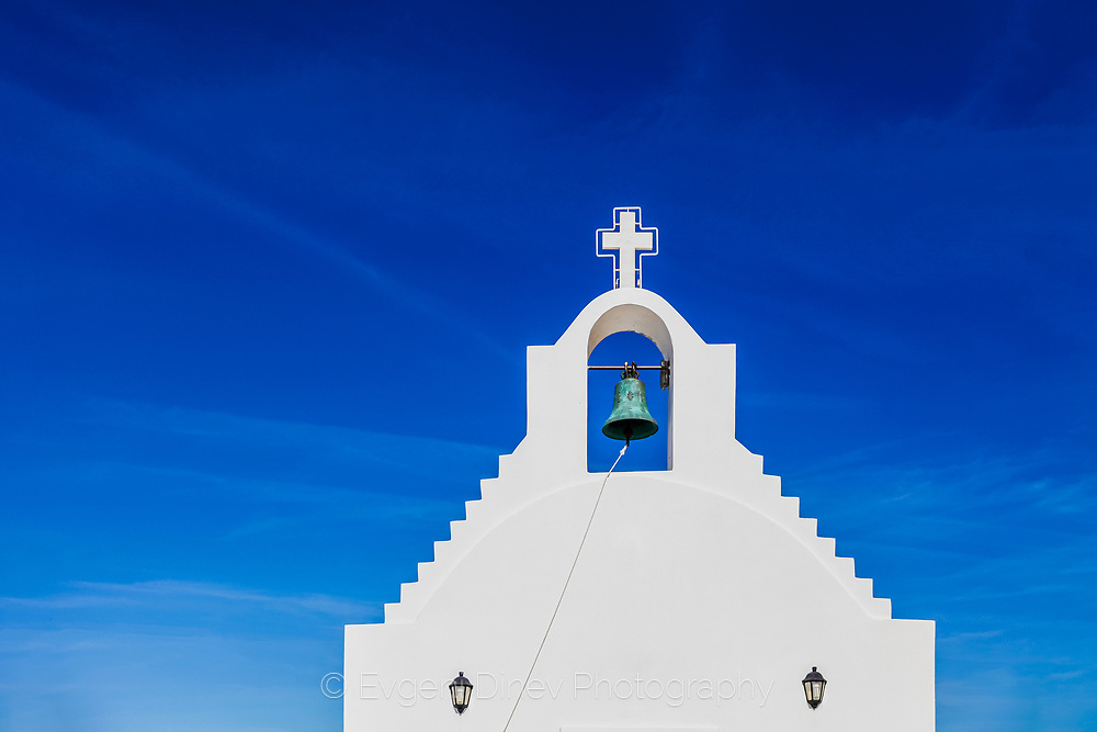 White Church Blue Sky