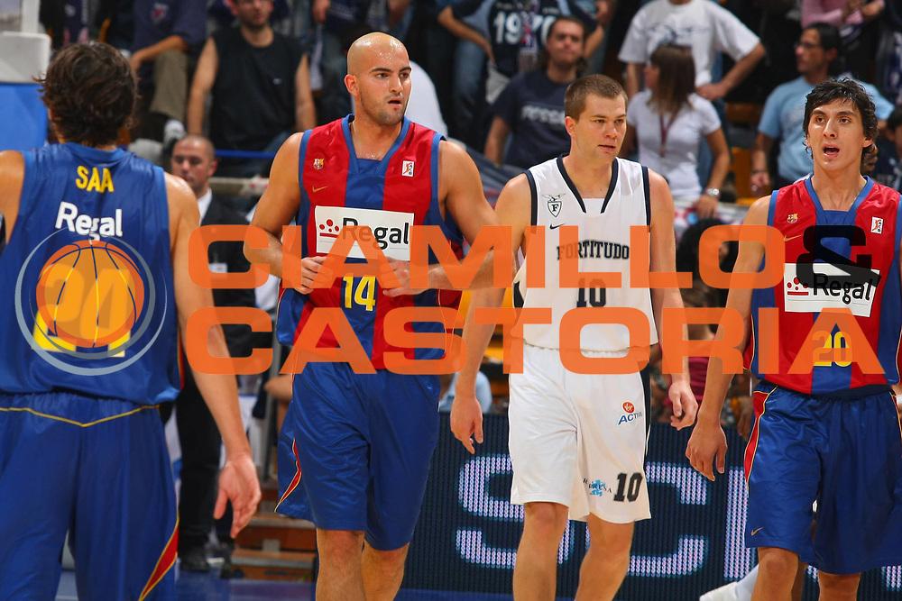 DESCRIZIONE : Bologna Lega A1 2008-09 Amichevole Upim Fortitudo Bologna Regal FC Barcellona<br /> GIOCATORE : Xavi Rey<br /> SQUADRA : Regal FC Barcellona<br /> EVENTO : Campionato Lega A1 2008-2009 <br /> GARA : Upim Fortitudo Bologna Regal FC Barcellona<br /> DATA : 01/10/2008 <br /> CATEGORIA : <br /> SPORT : Pallacanestro <br /> AUTORE : Agenzia Ciamillo-Castoria/G.Ciamillo<br /> Galleria : Lega Basket A1 2008-2009 <br /> Fotonotizia : Bologna Lega A1 2008-09 Amichevole Upim Fortitudo Bologna Regal FC Barcellona<br /> Predefinita :