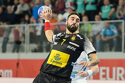 Rivera Valero of Spain during handball match between National teams of Slovenia and Spain on Day 6 in Main Round of Men's EHF EURO 2018, on January 23, 2018 in Arena Varazdin, Varazdin, Croatia. Photo by Mario Horvat / Sportida
