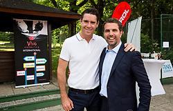 Gregor Krusic and Tomaz Jontes at Petrol VIP tournament 2018, on May 24, 2018 in Sports park Tivoli, Ljubljana, Slovenia. Photo by Vid Ponikvar / Sportida