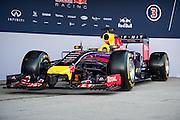 Circuito de Jerez, Spain : Formula One Pre-season Testing 2014. Sebastian Vettel (GER), Daniel Ricciardo (AUS), Red Bull-Renault