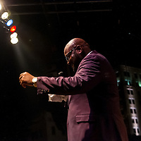 Ruben Studdard from American Idol perfoms at Decatur Celebration, Decatur, Illinois, August 1, 2014. Photo: George Strohl