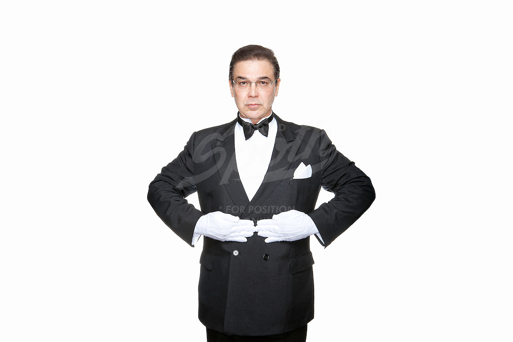 Portraits of professional butler, Edward Ordonez.