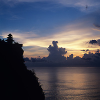 Bali, Temple Pura Ulu Watu, sunset
