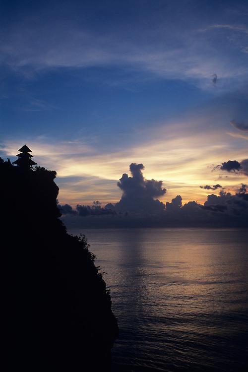 Bali, Temple Pura Ulu Watu, sunset