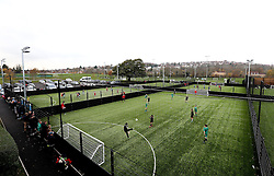 A general view of The BCCT EFL Kids Cup - Mandatory by-line: Robbie Stephenson/JMP - 23/11/2016 - FOOTBALL - South Bristol Sports Centre - Bristol, England - BCCT EFL Kids Cup