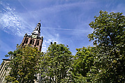 Nederland, Den bosch, 12-8-2018De sint janskathedraal aan de parade in het centrum van de stad .Foto: Flip Franssen