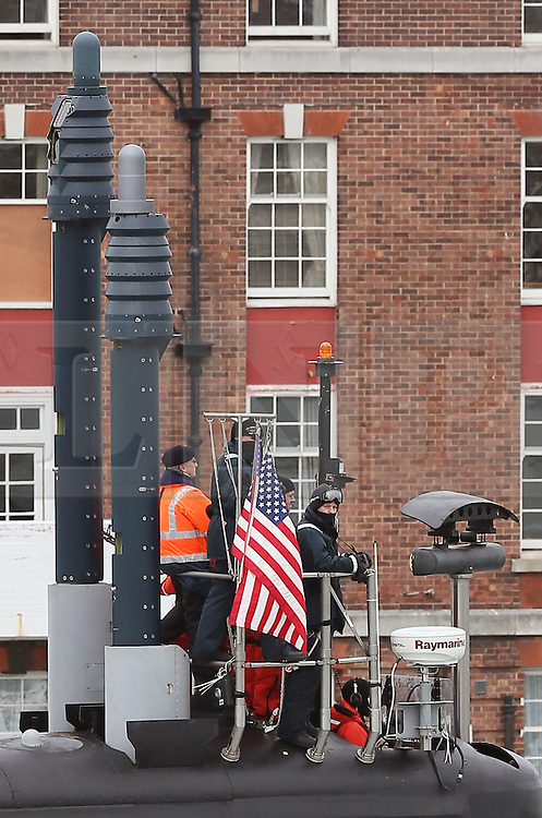 © under license to London News Pictures.  17/09/2013  NUCLEAR ATTACK SUBMARINE, USS MISSOURI VISITS PORTSMOUTH, UK. Picture credit should read: Bryan Moffat/London News Pictures