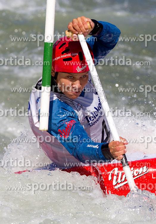 Jure Lenarcic of Slovenia competes during semifinal race at ICF Canoe Slalom World Cup Sloka 2011, on June 25, 2011, in Tacen, Ljubljana, Slovenia. (Photo by Vid Ponikvar / Sportida)