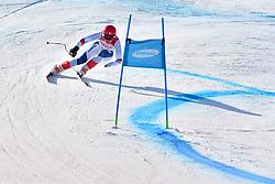 BOCHET Marie LW6/8-2 FRA competing in ParaSkiAlpin, Para Alpine Skiing, Super G at PyeongChang2018 Winter Paralympic Games, South Korea.