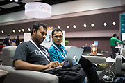 The Linux Foundation hosts its Cloud Foundry Summit 2017 at the Santa Clara Convention Center in Santa Clara, California, on June 13 through June 15, 2017. (Stan Olszewski/SOSKIphoto)