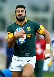 November 19, 2016 - Rome, Italy - Damian de Allende (S)  during the international match between Italy v South Africa at Stadio Olimpico on November 19, 2016 in Rome, Italy. (Credit Image: © Matteo Ciambelli/NurPhoto via ZUMA Press)