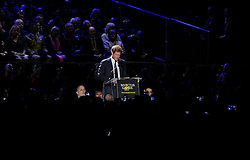 His Royal Highness addresses the crowd - Photo mandatory by-line: Joe Meredith/JMP - Mobile: 07966 386802 - 11/09/14 - The Invictus Opening Ceremony - London - Queen Elizabeth Olympic Park