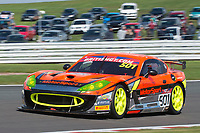 PMW Expo Racing / Optimum Motorsport #501 Ginetta G55 GT4 Graham Johnson/Mike Robinson GT4 Pro/AMduring British GT Championship as part of the BRDC British F3/GT Championship Meeting at Oulton Park, Little Budworth, Cheshire, United Kingdom. April 15 2017. World Copyright Peter Taylor/PSP.  Copy of publication required for printed pictures.  Every used picture is fee-liable. http://archive.petertaylor-photographic.co.uk