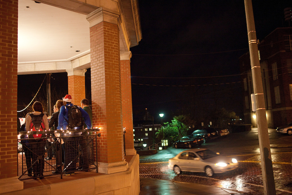 The Caroling by Candlelight event was located in the Bentley Annex in Athens, Ohio on Sunday, December 9, 2012. The event, which was sponsored by ImPRessions to benefit the Athens County Humane Society, was moved to the annex because of the rain. Photo by Chris Franz