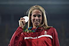 20160819 Rio 2016 Olympics - Atletik - Sara Slott medalje