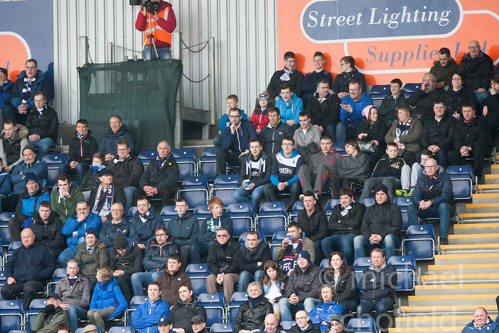 South stand.<br /> Falkirk 5 v 0 Cowdenbeath, Scottish Championship game played today at The Falkirk Stadium.<br /> &copy; Michael Schofield.