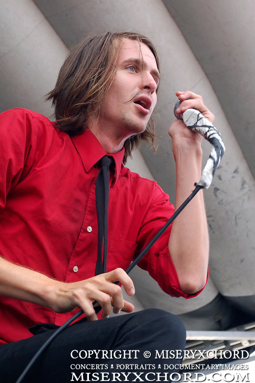 Mayday Parade performing at Warped Tour 2008 in Chula Vista, California USA on August 14, 2008