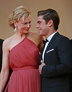 "Cannes,24.05.2012: NICOLE KIDMAN AND ZAC EFRON.at ""The Paperboy""  premiere, 65th Cannes International Film Festival..Mandatory Credit Photos: ©Traverso-Photofile/NEWSPIX INTERNATIONAL..**ALL FEES PAYABLE TO: ""NEWSPIX INTERNATIONAL""**..PHOTO CREDIT MANDATORY!!: NEWSPIX INTERNATIONAL(Failure to credit will incur a surcharge of 100% of reproduction fees)..IMMEDIATE CONFIRMATION OF USAGE REQUIRED:.Newspix International, 31 Chinnery Hill, Bishop's Stortford, ENGLAND CM23 3PS.Tel:+441279 324672  ; Fax: +441279656877.Mobile:  0777568 1153.e-mail: info@newspixinternational.co.uk"