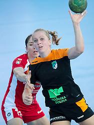Janja Rebolj of RK Zagorje during handball match between RK Zagorje and RK Krim Mercator of Super Cup 2016, on August 27, 2016 in SRC Marina, Portoroz / Portorose, Slovenia. Photo by Matic Klansek Velej / Sportida