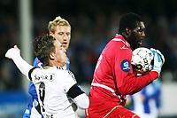 Fotball , 29. september 2013 , Tippeligaen , Eliteserien<br /> Sarpsborg - Rosenborg 1-2<br /> Nicki Bille Nielsen , RBK<br /> Duwayne Oriel Kerr , Sarpsborg