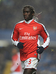 LONDON, ENGLAND - Sunday, February 7, 2010: Arsenal's Bacary Sagna during the Premiership match at Stamford Bridge. (Photo by Chris Brunskill/Propaganda)