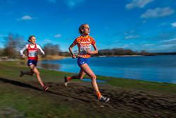 09-12-2018 NED: SPAR European Cross Country Championships, Tilburg<br /> Susan Krumins NED, Karoline Bjerkeli Grovdal NOO