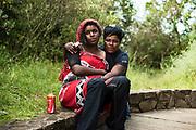Young woman in KwaZulu Natal