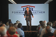 Ole Miss athletic director Pete Boome announces a $150 million capital improvement campaign to build a new basketball arena and expand Vaught-Hemingway Stadium in Oxford, Miss. on Tuesday, August 9, 2011.