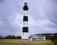 AA05836-01...NORTH CAROLINA - Bodie Island Lighthouse on the Outer Banks in the Cape Hatteras National Seashore.