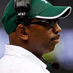 October 13, 2012; New Orleans, LA, USA;  Tulane Green Wave head coach Curtis Johnson against the SMU Mustangs during the first quarter of a game at the Mercedes-Benz Superdome.  Mandatory Credit: Derick E. Hingle-US PRESSWIRE