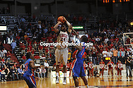 Mississippi's Terrico White misses a three pointer with 2 seconds remaining vs. Florida at the Tad Smith Coliseum in Oxford, Miss. on Saturday, February 20, 2010 in Oxford, Miss. Florida won 64-61.