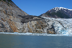 Tracy Arm Fjord - Glacier