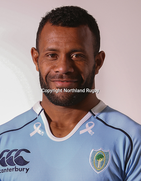 Isimeli Taqea. Headshots of the Northland ITM Cup rugby union team for the 2015 season.