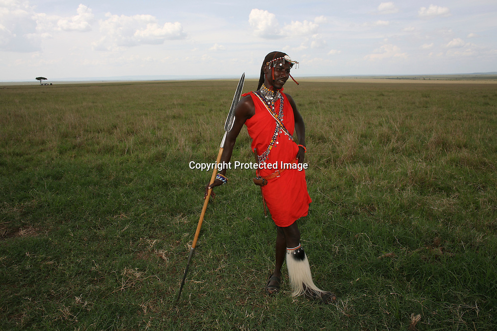 Maasai tribe in Kenya
